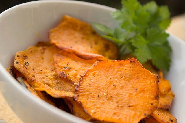 Yam Sweet Potato Chips Snacks