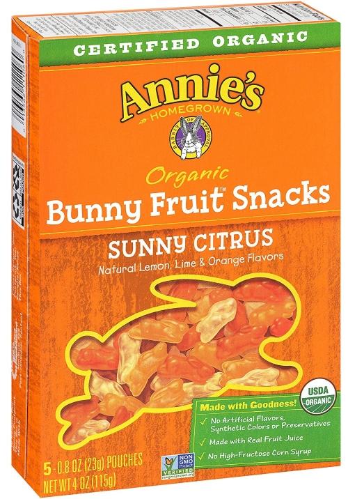 Annie's organic fruit snacks