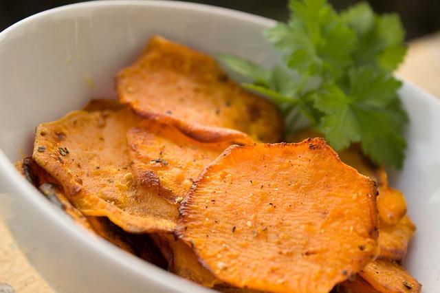 Yam Sweet Potato Chips Snacks